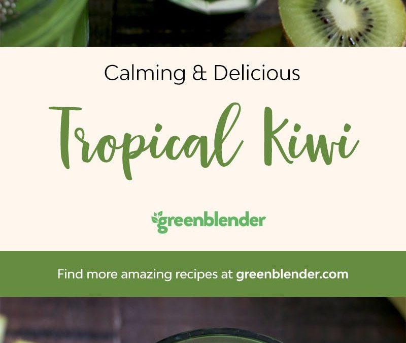 Tropical Kiwi Smoothie