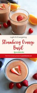 Strawberry Orange Basil
