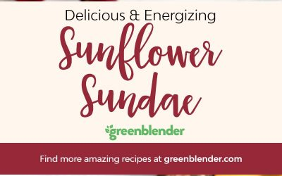 Sunflower Sundae Smoothie